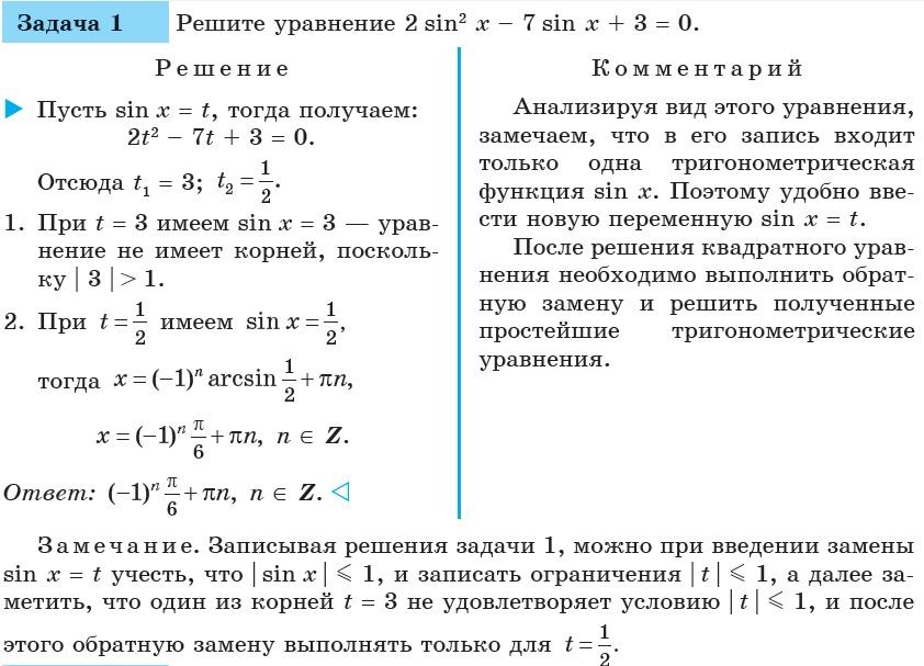 Задачи и решение тригонометрических уравнений задачи с решением на сортировки на паскале