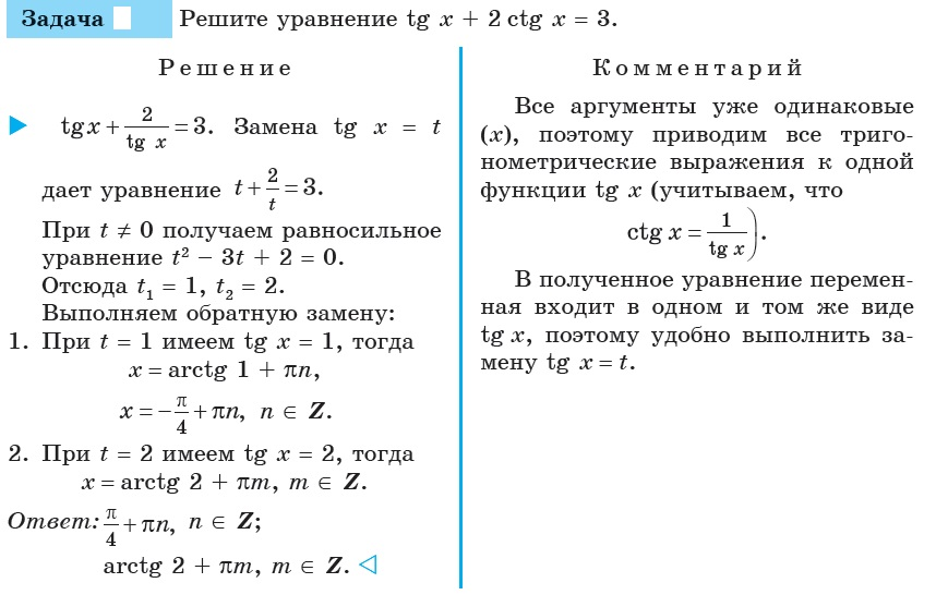 Доклад на тему тригонометрические уравнения 1865